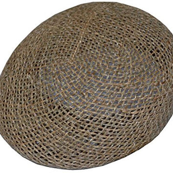 DPC Men's Twisted Seagrass Ivy Straw Cap Hat (X-large)