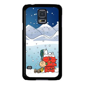 Charlie Brown Peanuts Snoopy Samsung Galaxy S5 Case