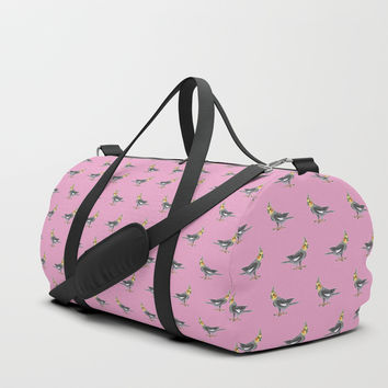 Cockatiel Duffle Bag by Savousepate