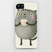 I♥you iPhone & iPod Case by Lime