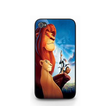 Nala The Lion King Simba Pumba iPhone 4 4S / iPhone 5 Hard Case Cover