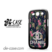 Floral Chanel 1 For Samsung Galaxy S3 Case Phone Case Gift Present YO