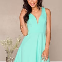 Juliana Dress - Mint
