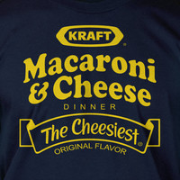 Macaroni and Cheese Screen Printed TShirt Tee by IceCreamTees