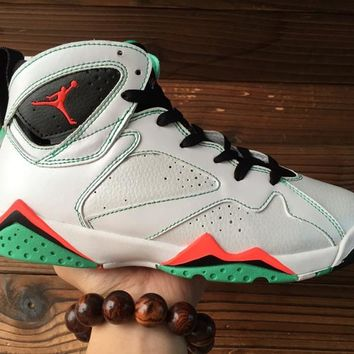 "[Free Shipping ]Nike Air Jordan 7 Retro 30TH GG ""Marvin The MARTIAN"" 705417-138   Basketball Sneaker"