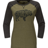 WOMEN'S EXPLORE MORE BUFFALO BASEBALL TEE | United States