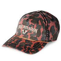True Religion Camo Baseball Cap