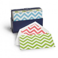 C. Wonder | Chevron Notecards Box