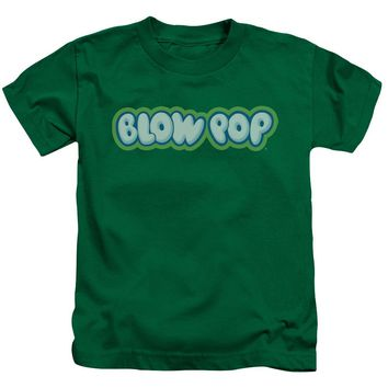 Tootsie Roll - Blow Pop Logo Short Sleeve Juvenile 18/1