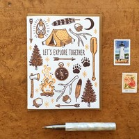 Explore Together Single Card
