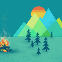 The Bonfire Art Print by Jenny Tiffany