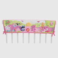 Fisher-Price Pink Woodland Friends Twinkling Lights Crib Rail Soother
