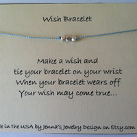 Three Wishes Wish Bracelet, Karen .. on Luulla