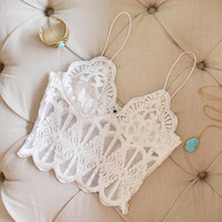 Laced Lass Bustier