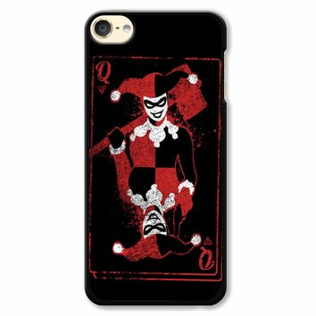 Harley Quinn Of Hearts iPod Touch 6 Case