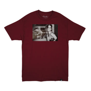 DRIFT TEE - BURGUNDY