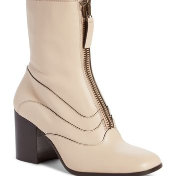 Chloé Qacey Square Toe Boot (Women) | Nordstrom