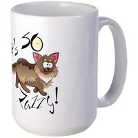 Big Bang Theory He's SO Zazzy Large Mug> Big Bang Theory He's SO Zazzy> MORE PRODUCTS-CLICK HERE-GetYerGoat.com