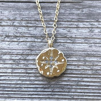 14k Gold-Filled Starlight Pendant