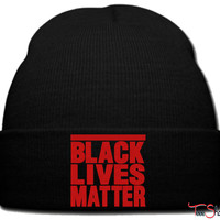 BLACK LIVES MATTER_PXF beanie knit hat