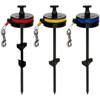 Howard Pet Products Retractable Dog Cable Tie Out