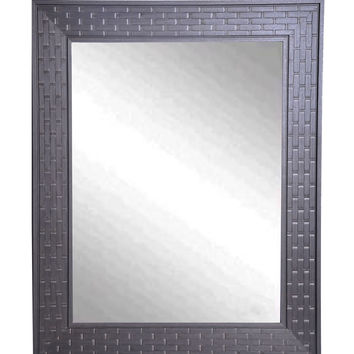 "Rayne Mirrors Coffee Crate Wall Mirror 28.5""""x 34.5"""""