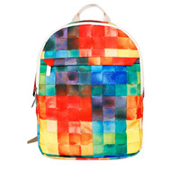 Colorful Grids Backpack/Laptop Bag