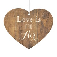 Love is in the Air Rustic Barn Wood Wedding
