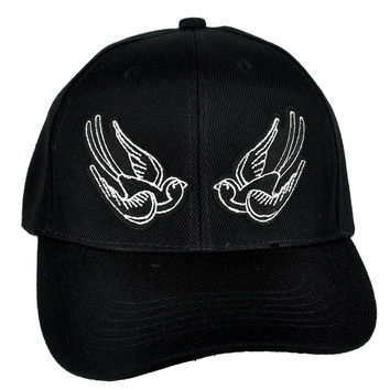Tattoo Sparrow Birds Hat Baseball Cap Occult Clothing