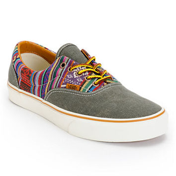 Vans Era Guate Olive Night Canvas Skate Shoe