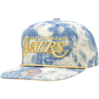 NBA Mitchell and Ness Lakers Acid Wash Blue Snapback Hat at Zumiez : PDP