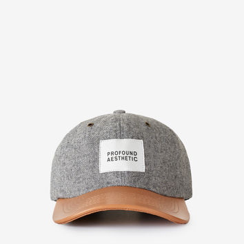 Wool Flannel Gray Baseball Hat