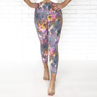 Mystic Watercolor Hight Waist Yoga Pant