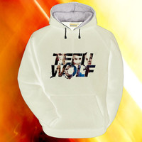 teen wolf cool logo hoodie on S,M,L,XL,XXL,3XL heppy feed.