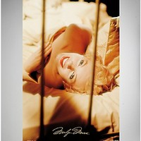Marilyn Monroe Sheets Poster - Spencer's