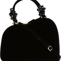 Simone Rocha Structured Velvet Tote - Firis - Farfetch.com