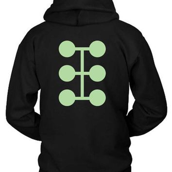 Marvel Madrox Factor Logo Hoodie Two Sided