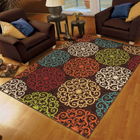 Walmart: Orian Harbridge Woven Olefin Area Rug