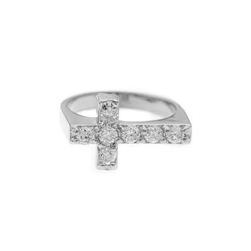 Mister  Crucis Ring - Chrome