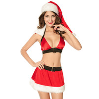 On Sale Cute Hot Deal Sexy Red Christmas Hats Exotic Lingerie [6582035911]