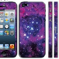 Fashionable Body Decal Beautiful Protective film Screen Protector Skin Sticker Front & Back & side for Apple iPhone 5 5G