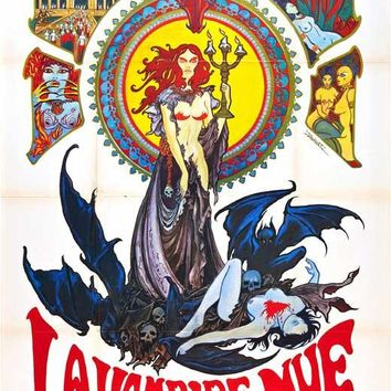 The Nude Vampire (French) 27x40 Movie Poster (1970)