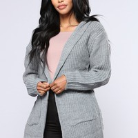 Jacqueline Sweater - Charcoal