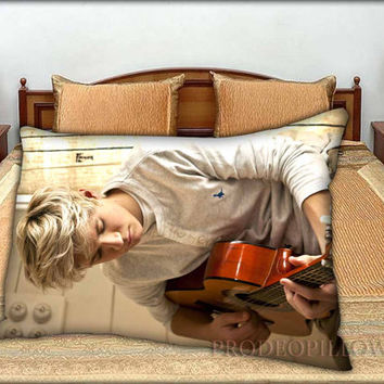 "New 1D One Direction Niall Horan Autograph Personalized Name Sweet Dreams - 20 "" x 30 "" inch,Pillow Case and Pillow Cover."