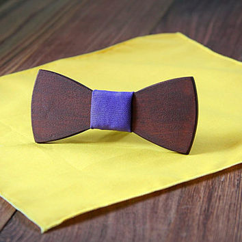 FREE SHIPPING till 15th October!! Handcrafted Wood Bow tie . Red wood .Handicraft unique men accessory.Manly gift. #JVbowtie