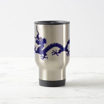 Blue Dragon Commuter Mug