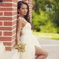 Wedding dress. Beach wedding dress. Bridal dress KRISTY.