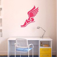 Track and Field Removable ChalkTalkGraphix Wall Decal | GoneForaRUN.com