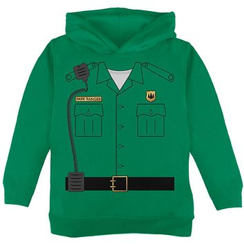 Halloween Forest Park Ranger Costume Toddler Hoodie