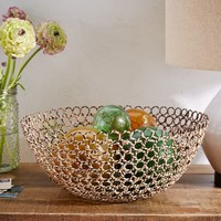 Wire + Cane Bowl